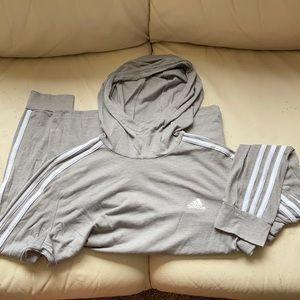Adidas lightweight climalite hoodie